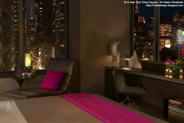 Les plus beaux hotels design du monde h tel w new york for Chambre fabulous w barcelone