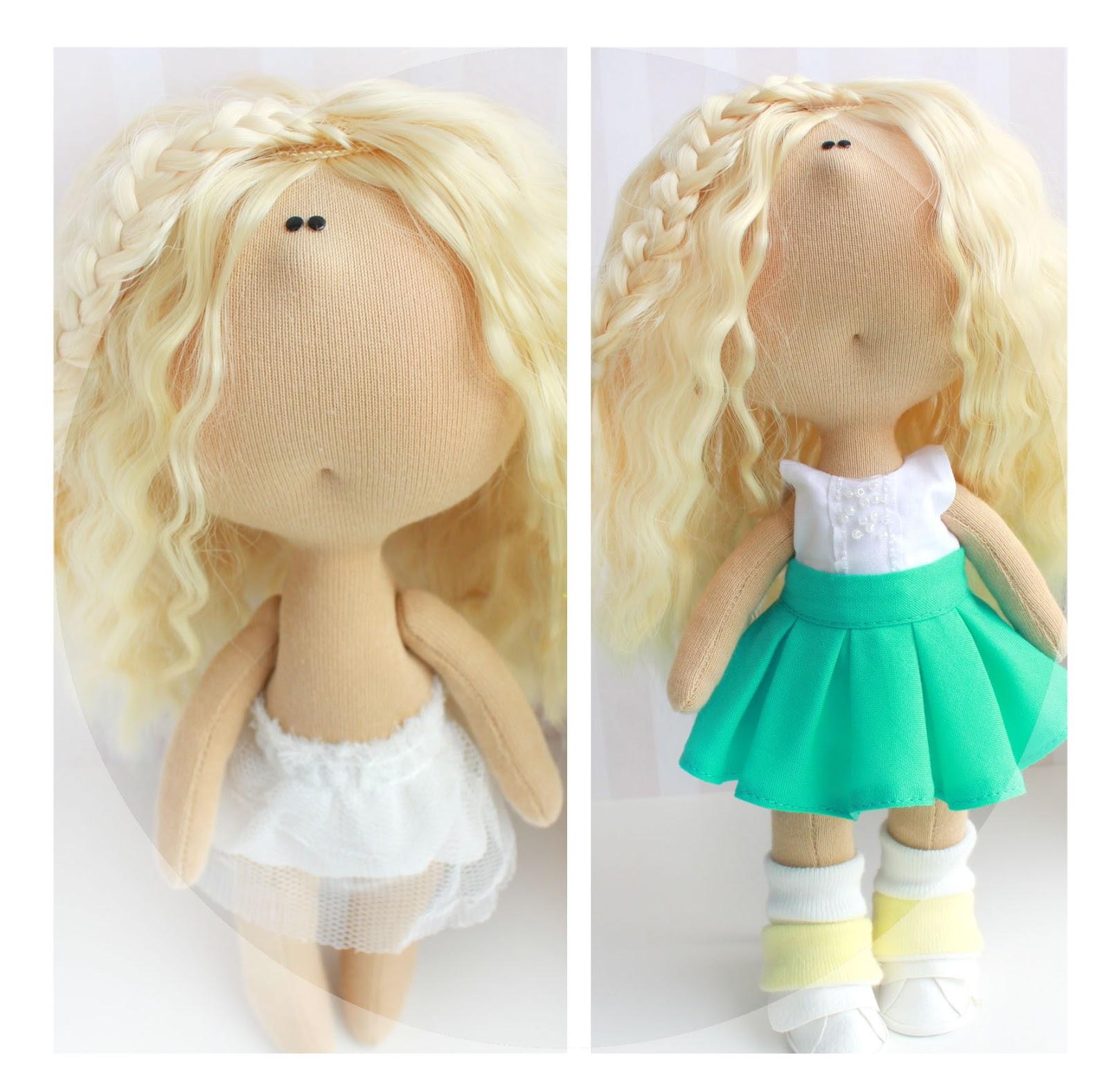Куклы малышки из ткани своими руками