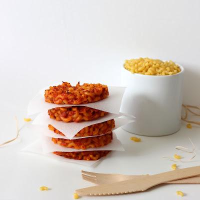 Illustration galette de coquillettes & jambon fumé