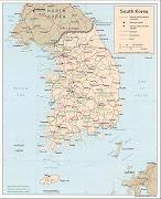 mapa da Coreia do Sul,mapas da Coreia do Sul,Coreia do Sul mapa,Coreia do . (mapa coreia do sul mapas )