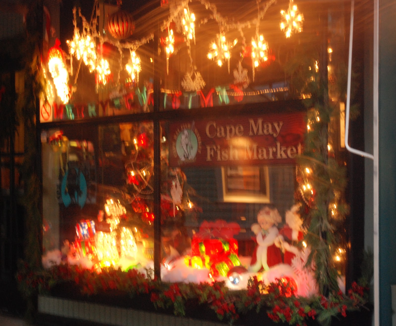 Margaret Montet: Christmas Eve in Cape May