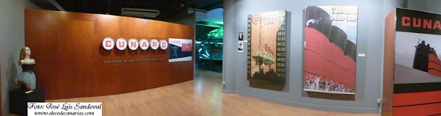 Museo Elder acoge exposición naviera Cunard