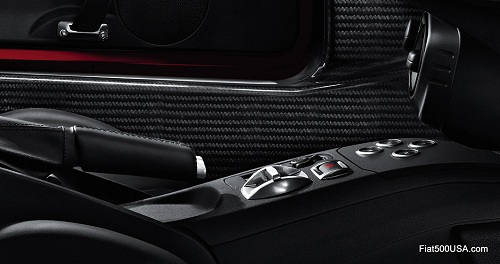 Alfa Romeo 4C center console
