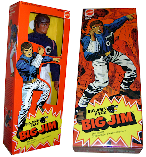"Mattel's Big Jim PACK ""Commander"" Jim figure"