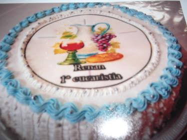bolo 1º eucaristia