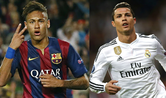Barcelona full-back Dani Alves believes Neymar has surpassed Cristiano Ronaldo and trails only Lionel Messi in the world's best player rankings.