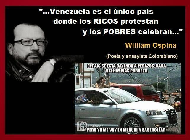 Los ricos protestan, los pobres celebran