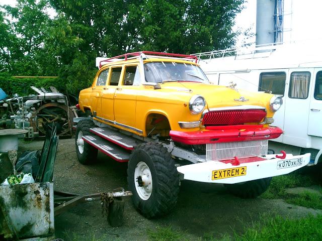 Волга ГАЗ-21 - Джип 4x4
