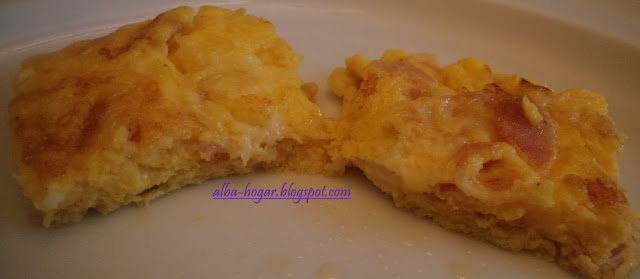 tortilla bacon y queso alba hogar