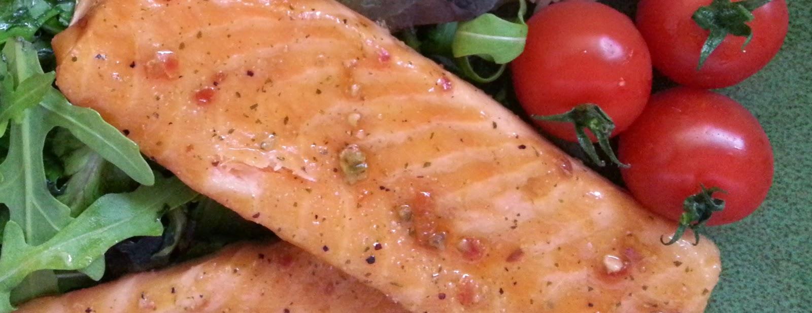 ready to eat salmon