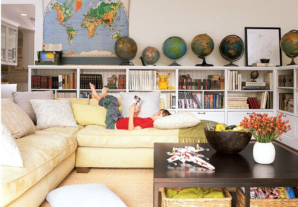 Love Of Interiors Decorating With Maps