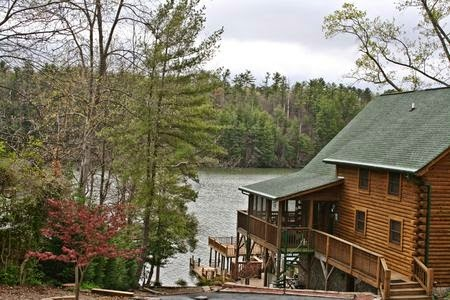 What Melting Snow Can Do To A Log Home And Products To Prevent Damage