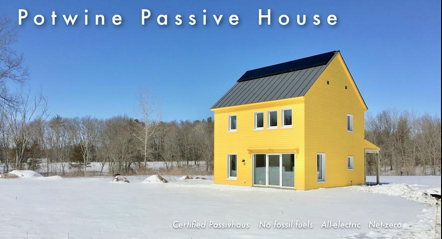 Potwine Passive House Blog