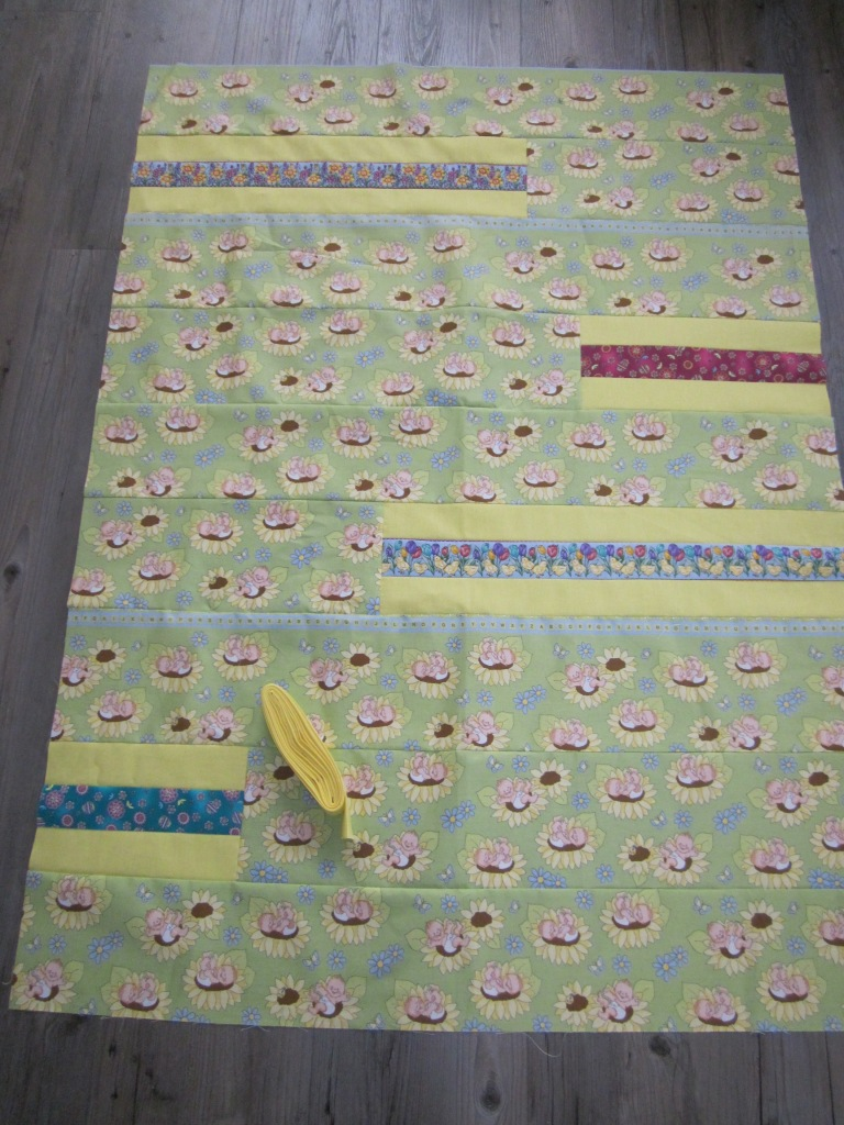 Ingrid 39 s handwerken april 2013 - Quilts gele ...