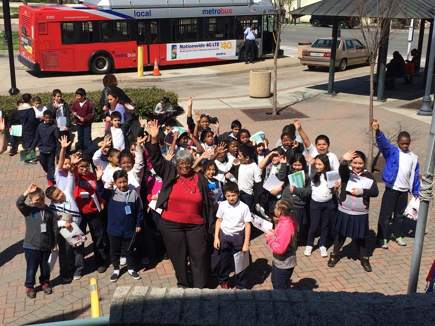 Third Graders come to City Hall