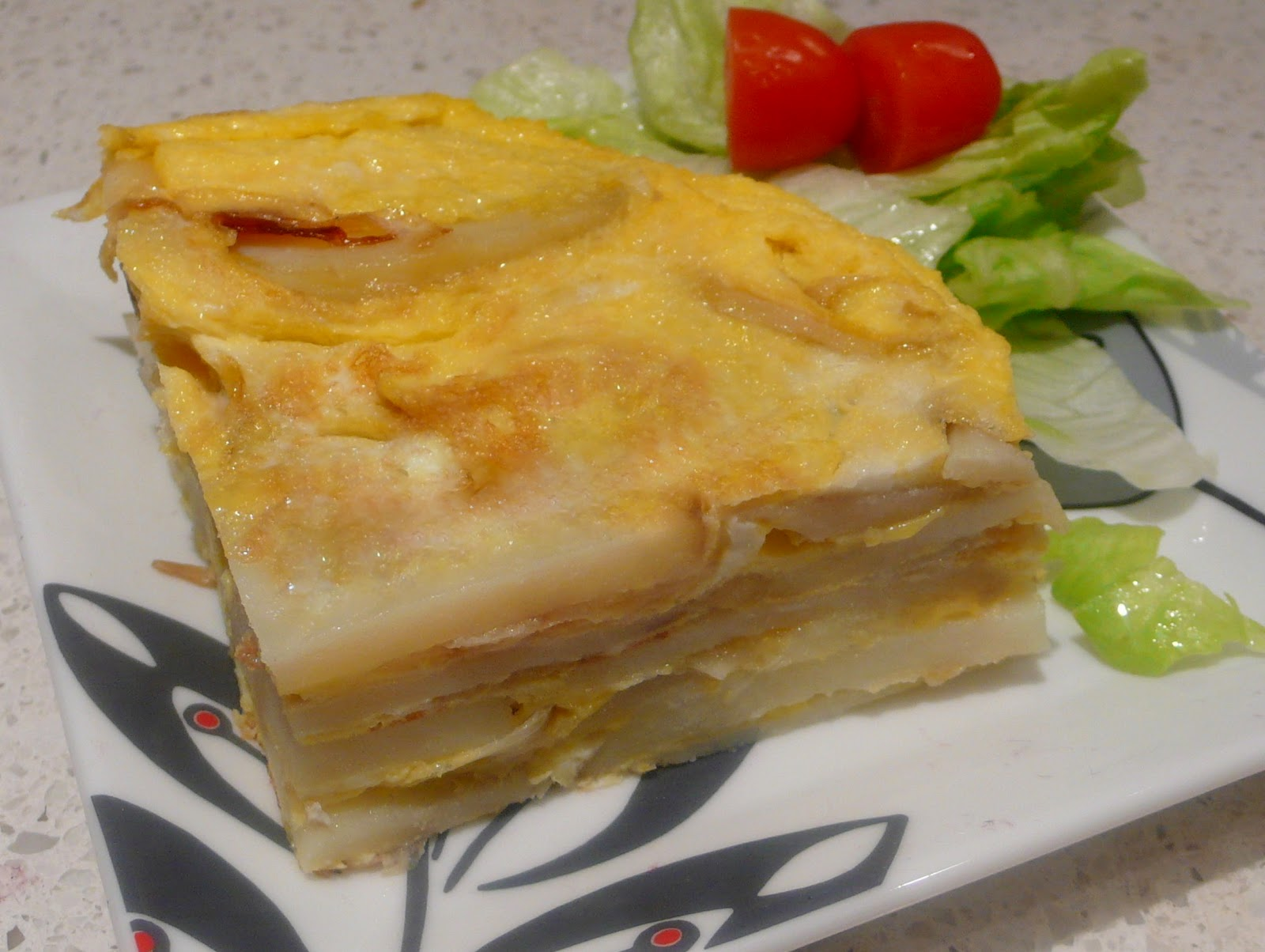 potato omelet cook like james tortilla española spanish potato omelet ...