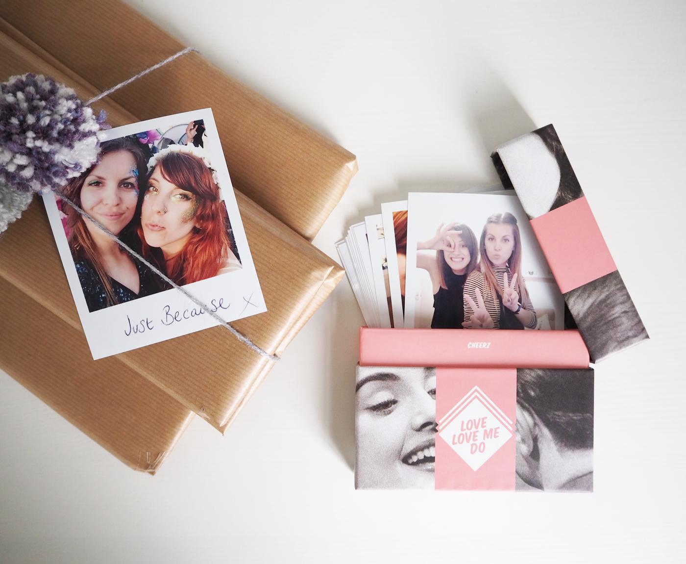 Valentines gift idea from Cheerz