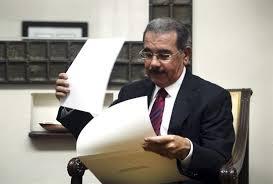 Danilo Medina da los toques finales a su discurso para este miércoles