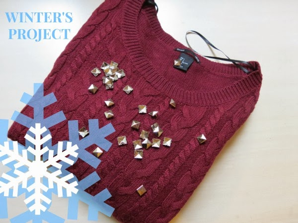 Winter's Project #1: Studs & Red