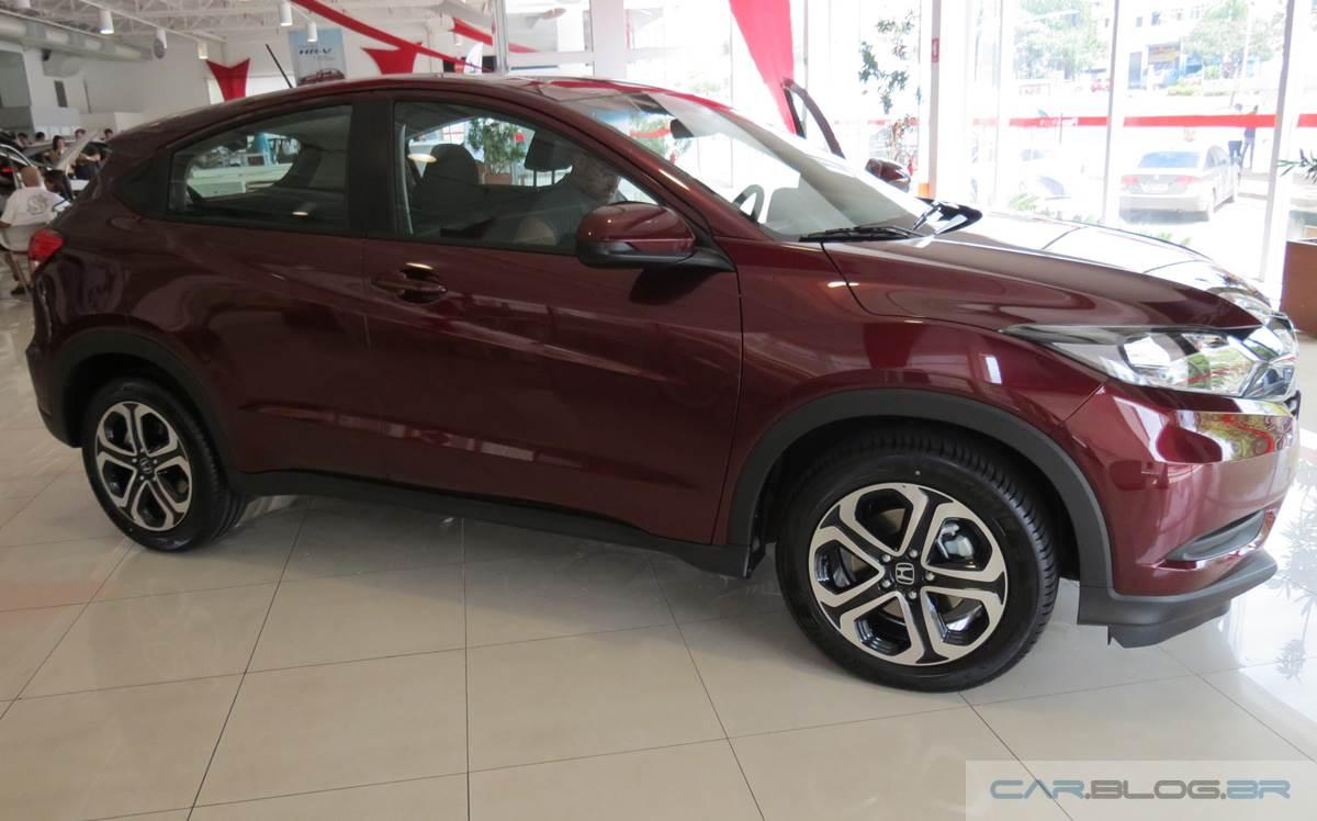 Honda HR-V LX CVT Vermelho Mercúrio