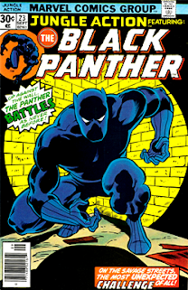 Black Super Hero...is 'A Panther' In Africa. hhmm