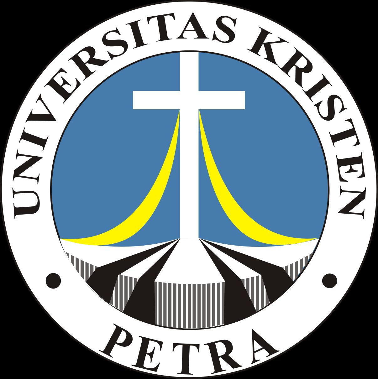 logo universitas kristen petra kumpulan logo indonesia