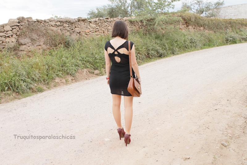 como lucir vestidos backless