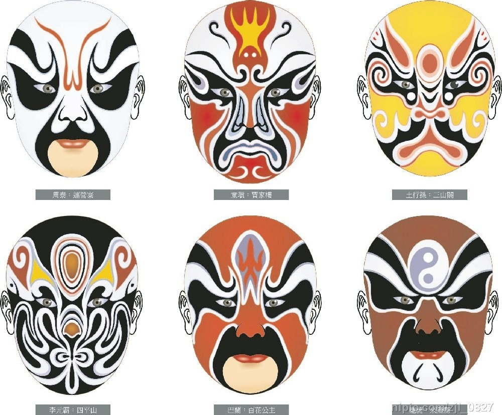14 Japanese Masks