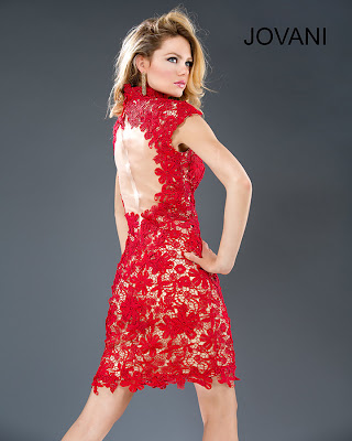 cocktail dresses 2014 sexy short red lace cocktail dress