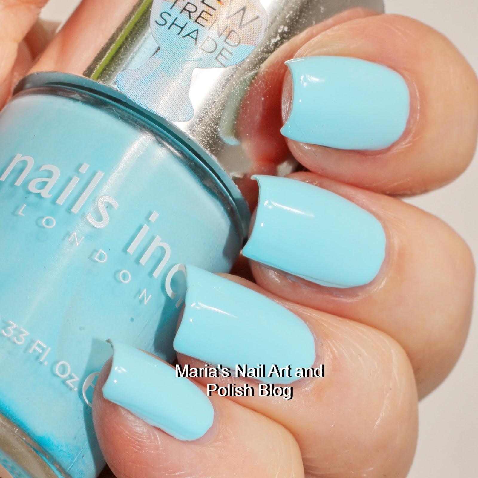 Marias Nail Art and Polish Blog: Nails Inc. Chelsea Physic Garden + ...