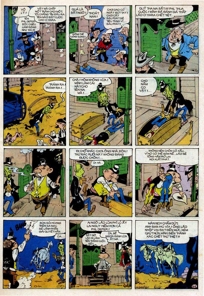 TruyenHay.Com - Ảnh 15 - Lucky Luke Tập 25 - Nhện Chân Dài