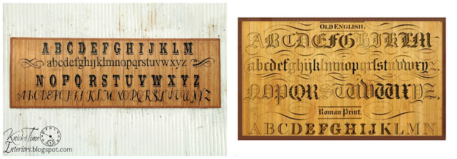 DIY Decor Steals Typography Bamboo Floor Rug Mat via Knick of Time knickoftimeinteriors.blogspot.com