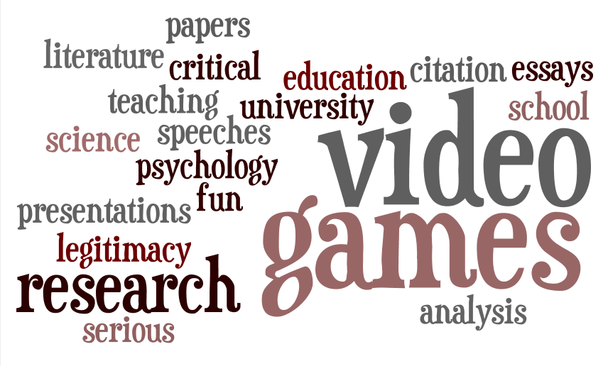 citing video games in research paper Citation generator glossary writing samples research paper samples video games have of their time playing video games are likely to suffer from video.
