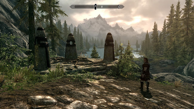 skyrim guardian stones screenshot