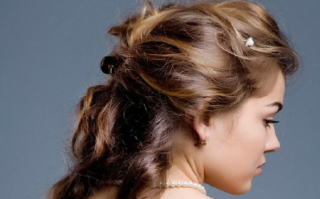 Half French Braid Hairstyle