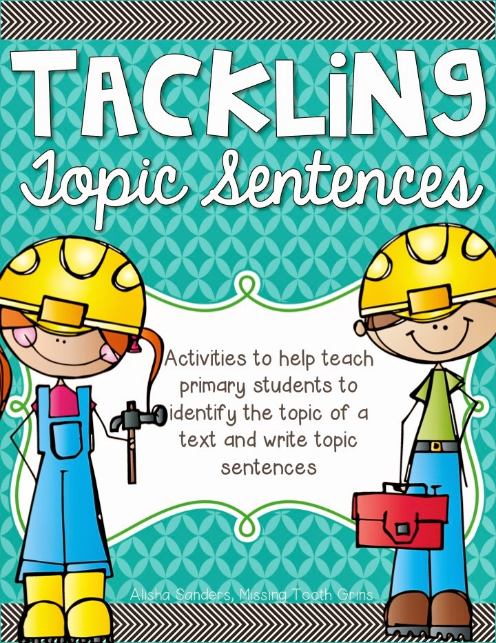 https://www.teacherspayteachers.com/Product/Tackling-Topic-Sentences-1652261