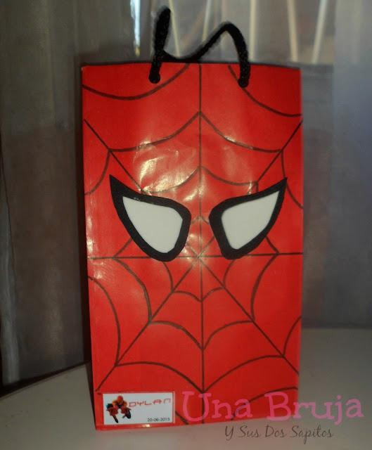 Bolsitas hombre araña - spiderman