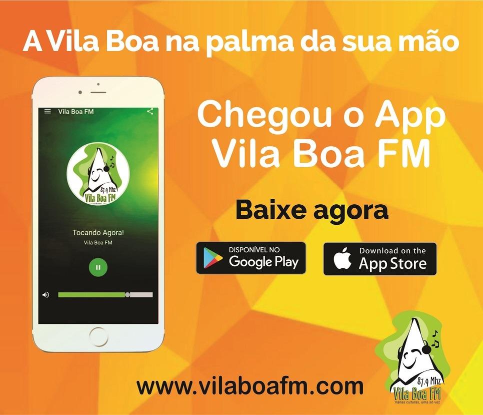 BAIXE O APP DA VILA BOA FM