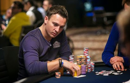 Sam Trickett lider Big One For One Drop