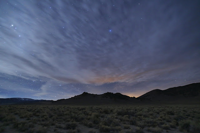 Stars at Sunset