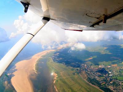 St. Peter-Ording: Fotos eines Tandem-Fallschirmabsprunges über dem ordinger Strand 4