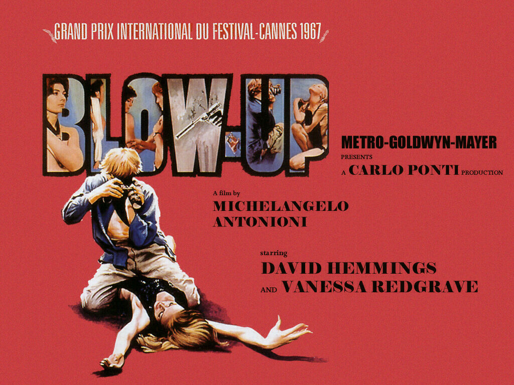Blow Up movie poster