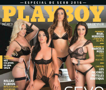 Jessy, Elif, Gia e Kasia Playboy México Setembro 2016