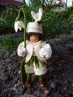 Sneeuwklok peuter van Janny