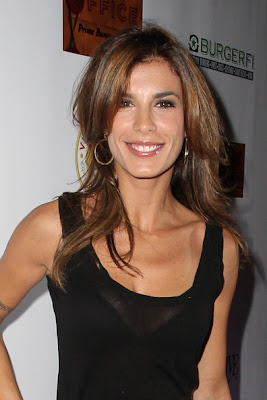 Elisabetta Canalis Layered Cut Hairstyle