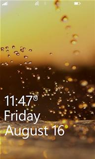 برنامج مجاني لتخصيص وتبديل وقفل الشاشة تلقائياً لويندوز فون ونوكيا لوميا Lock Screen Changer 2.2.1.0-xap