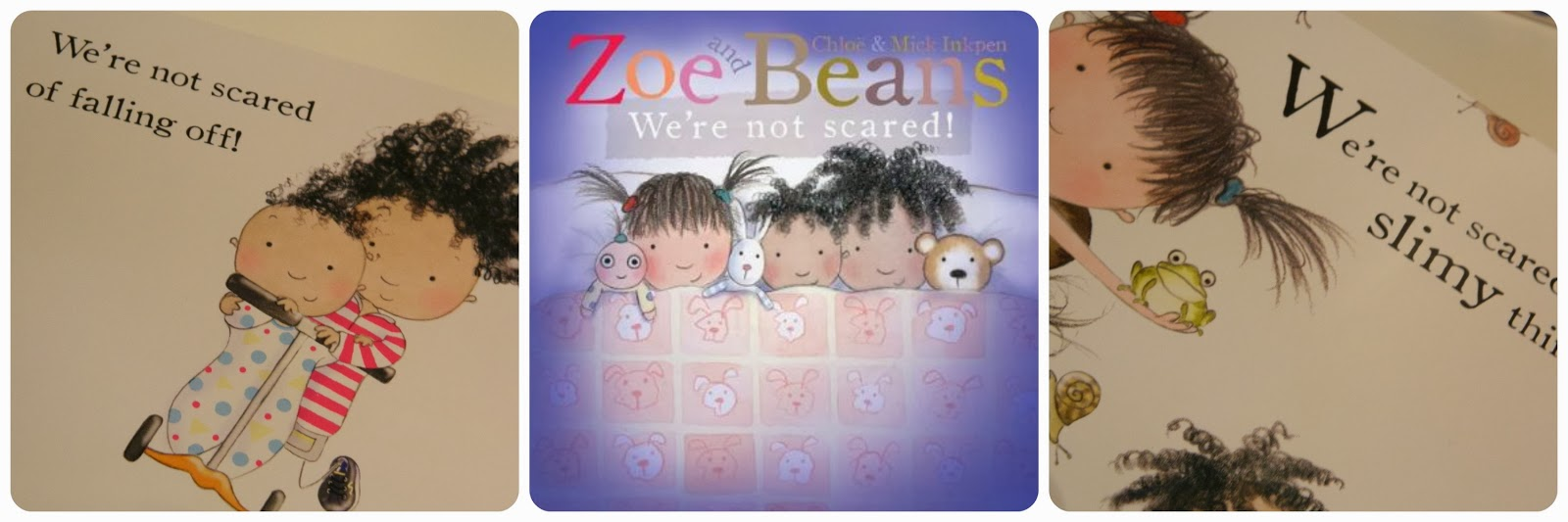 Zoe and Beans We're Not Scared Board Book
