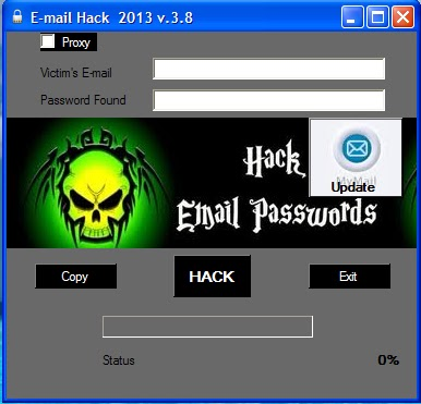 someones email password, its very easy to hack his/her Facebook/MSN