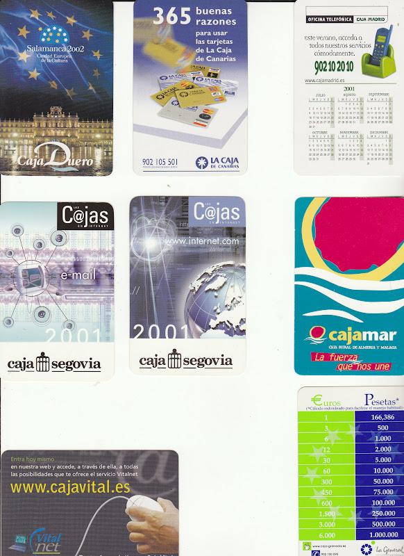 Colecciono calendarios fournier del a o 2001 for Caja duero oficinas madrid