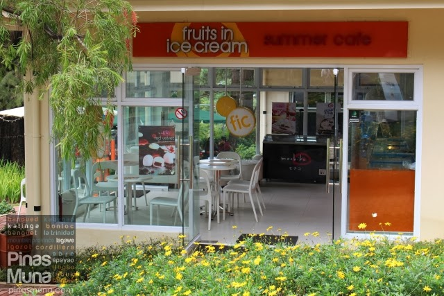 Fruits in Ice Cream Summer Cafe Baguio Technohub